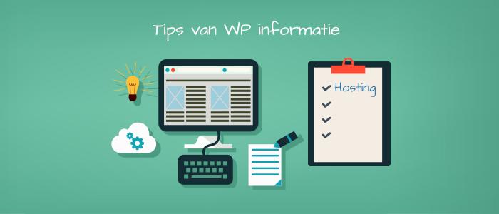 WordPress hosting informatie