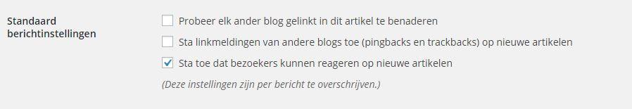 WordPress Pingback