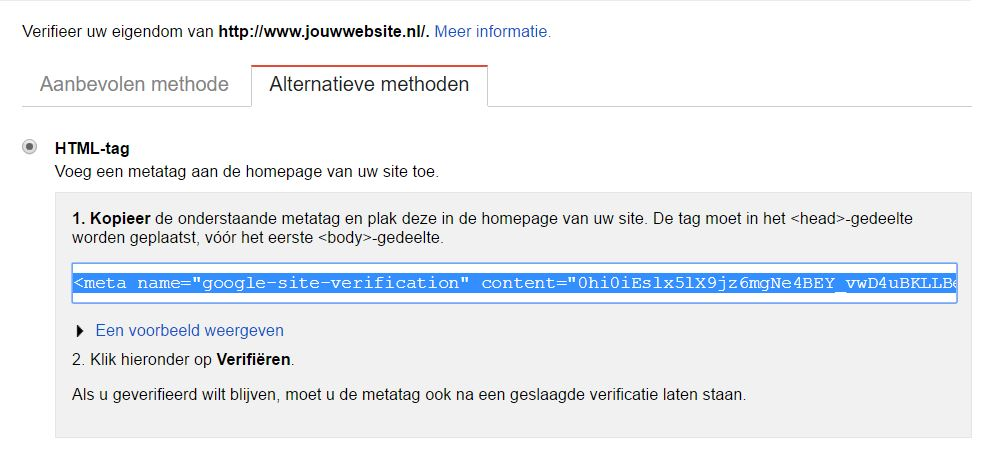 html tag webmasters