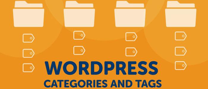 WordPress tags versus categorieën